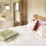 Fursdon Cottage Master bedroom