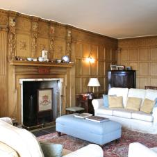 Panelled Drawing Room Fursdon House