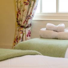 Park Wing beds, soft rugs and thick curtains