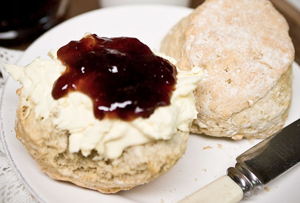 Fursdon cream tea